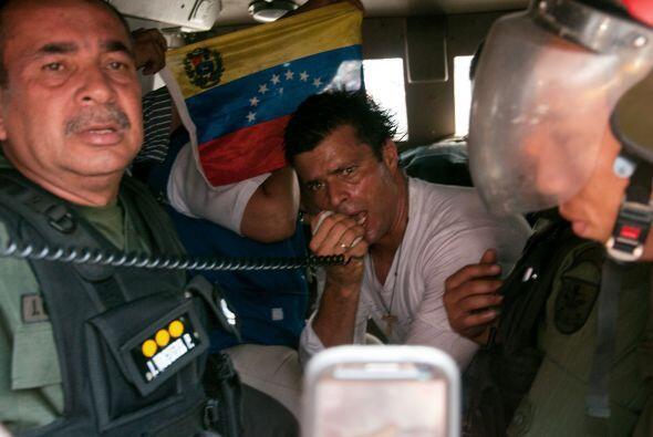 Por decisión de la jueza Dalenys Tovar, Leopoldo López pernoctará presun...