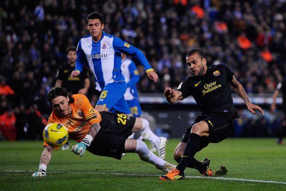 En el segundo tiempo, el Barcelona no pudo encontrar la fórmula p...