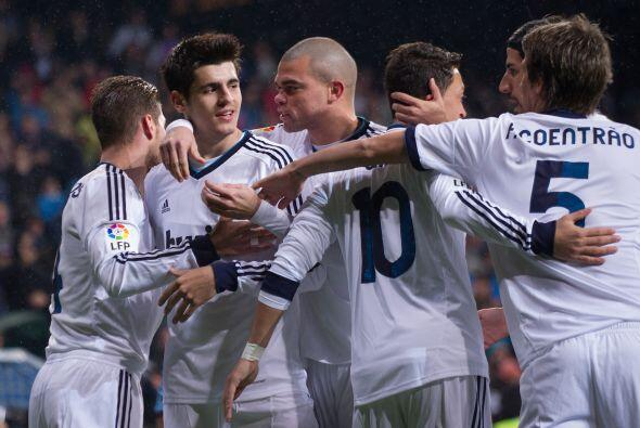 Con solo tres minutos disputados, el joven futbolista marcaba el 1-0.