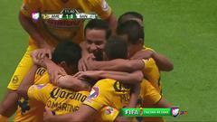 Goooolll!! Osvaldo David Martínez mete el balón y marca para América