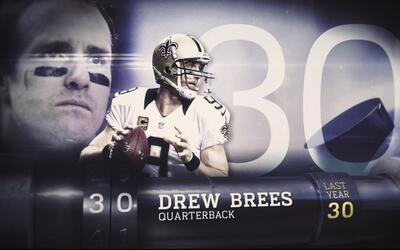 Top 100 Jugadores del 2016: (Lugar 30) QB Drew Brees