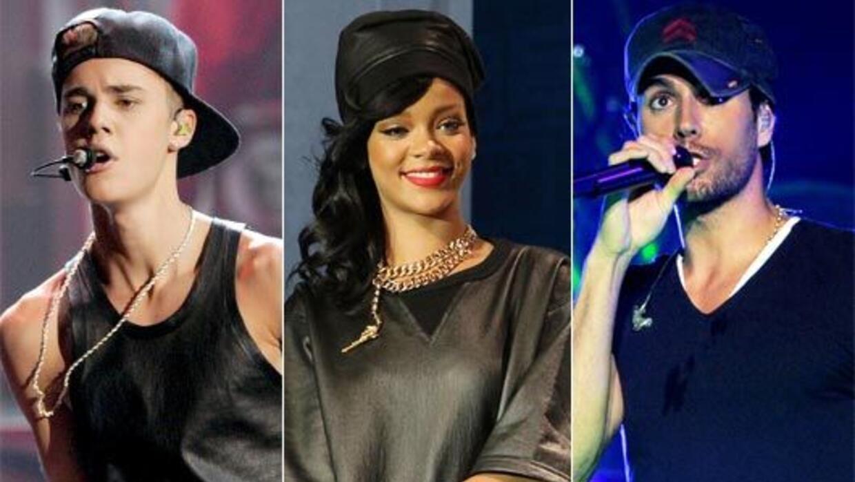 Café Tacvba, Justin Bieber, Rihanna y Enrique Iglesias fueron algunos de...