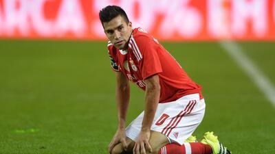 Nico Gaitán deberá retomar su nivel para ayudar al Benfica.