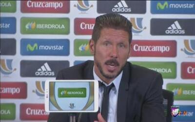 Diego Simeone y Carlo Ancelotti reaccionaron luego del enfrentamiento