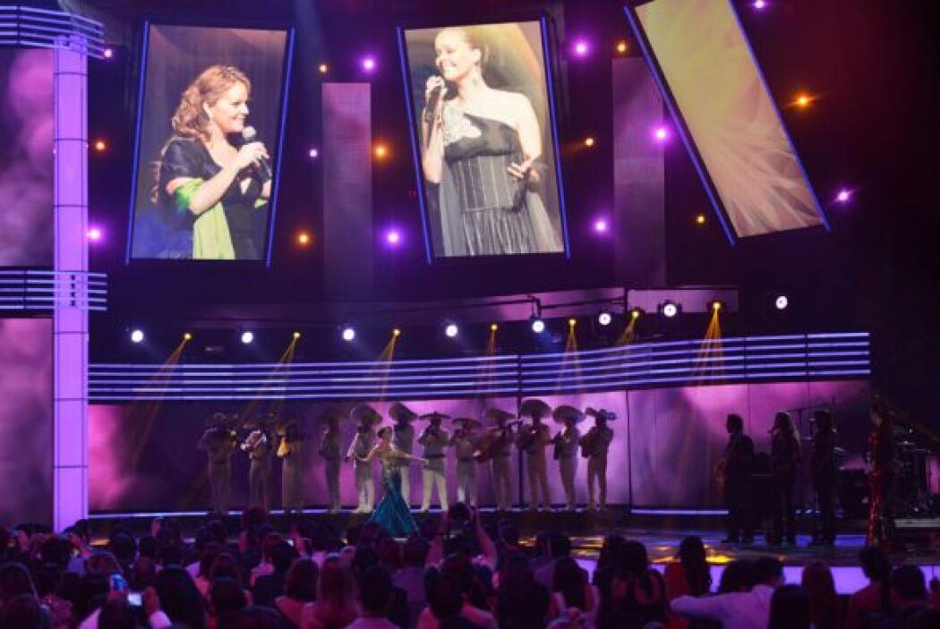 La siguiente en salir a cantar un tema de la querida 'Diva de la Banda'...
