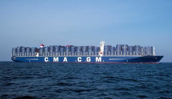 El CMA CGM Benjamin Franklin llegará al Puerto de Los Ángeles en diciembre