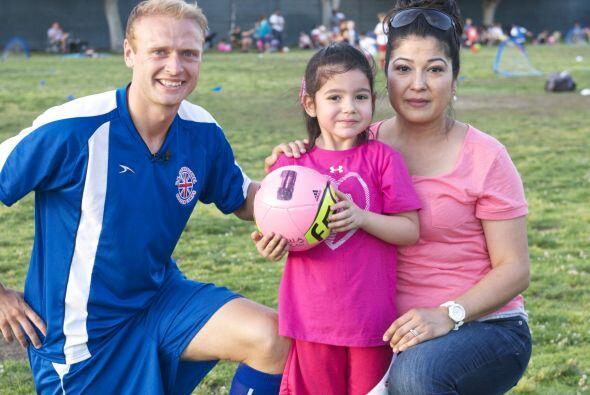 Por tal motivo Susana Criscoe decidió poner a su hija Daniela de 5 años...