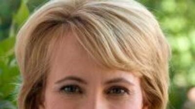 Imagen de la congresista Gabrielle Giffords cortesía del sitio web Giffo...