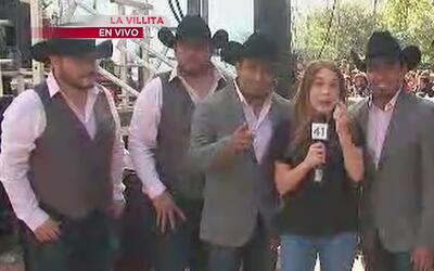 Grupo Vision habla de su participación en el Univision Fan Fair