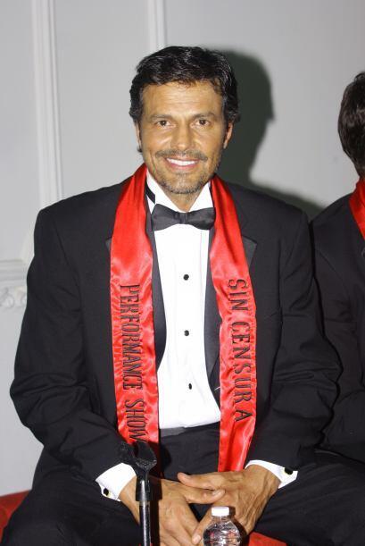 Agustín Arana, un hombre que presumirá sus encantos ante la mirada de ci...