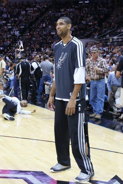 El triunfo de los Spurs se dio a pesar del magistral partido que jugó el...