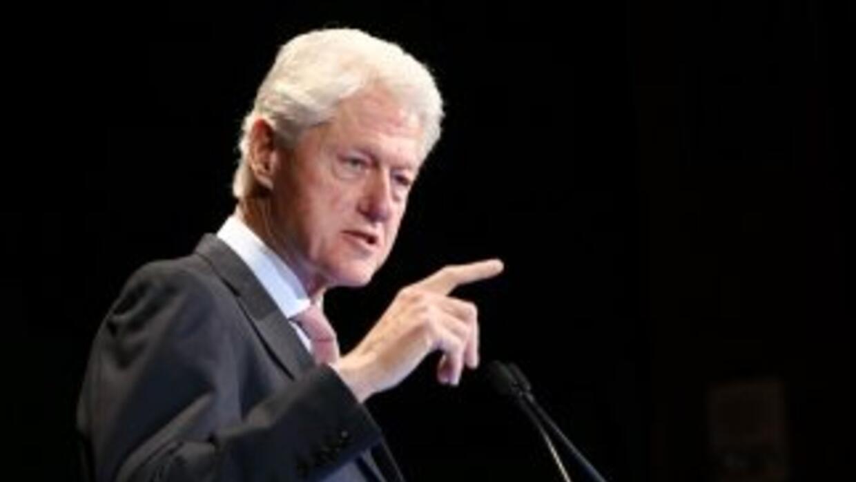 El ex presidente de Estados Unidos, Bill Clinton (1993-2001).