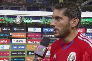 """Jesús Corona: """"El partido me dejó con un muy buen sabor a boca"""""""