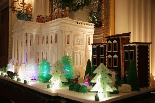 De acuerdo al sitio oficial de la Casa Blanca, las decoraciones también...