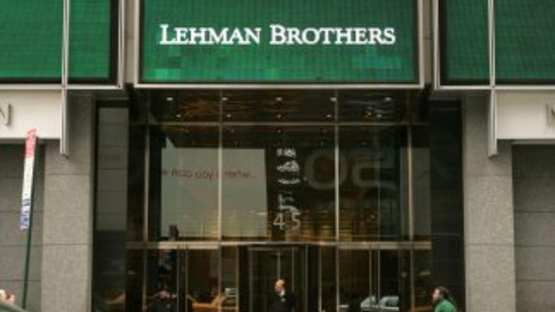 Lehman Brothers busca recuperar sus activos.
