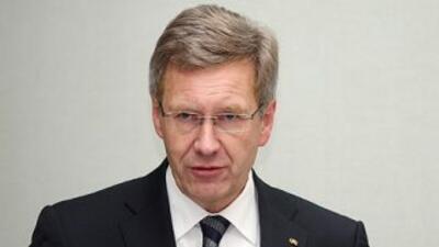Christian Wulff, el más joven de los presidentes de Alemania, proyectaba...
