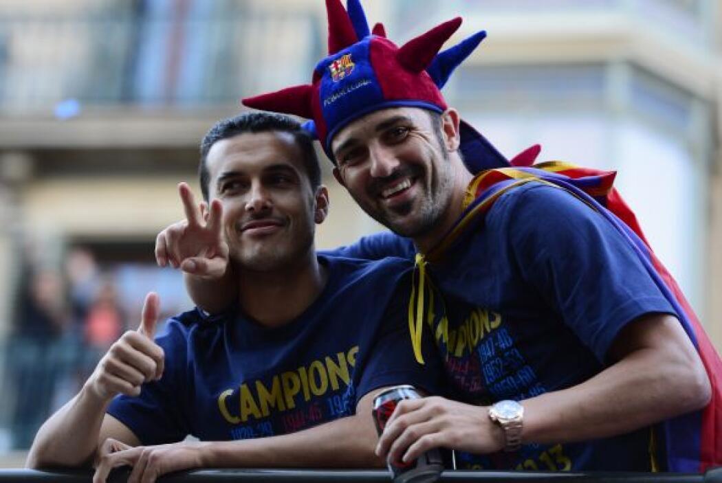 Pedro Rodríguez y David Villa, dos delanteros letales que además son gra...