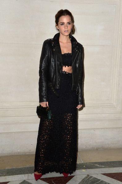 ¡Emma Watson sigue robando corazones con sus 'look'! Muy 'chic', l...
