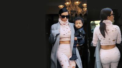 Sorry, ¿Eso que trae Kim Kardashian es lo último en la moda?