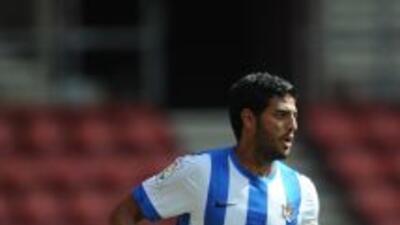 Carlos Vela no pudo ayudar a la Real Sociedad y fue sustituido en los úl...