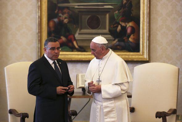 El 23 mayo fue visitado por el presidente salvadoreño, Mauricio F...