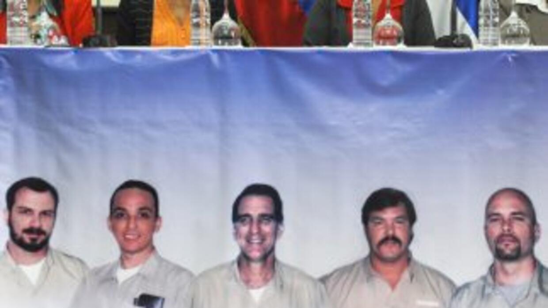 René González, fue acusado en EU de espionaje junto con otros cuatro ex...