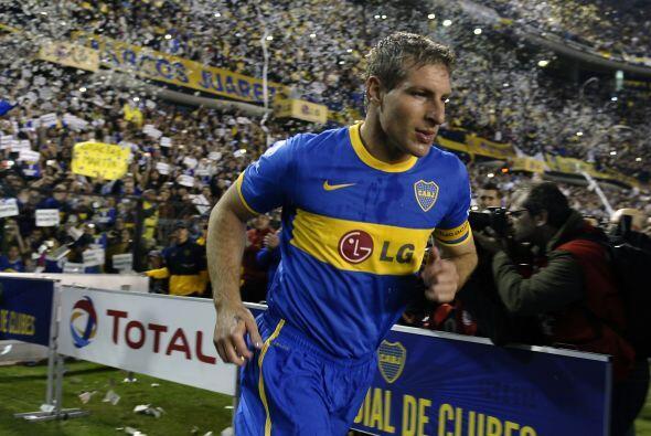 Otro que se nos fue es el eterno goleador argentino Martín Palermo. El '...