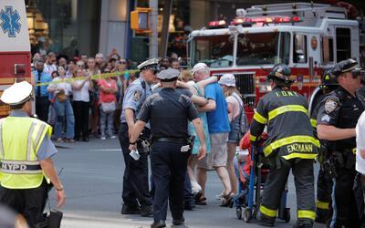 Heridos por el accidente en Times Square permanecen hospitalizados; la m...