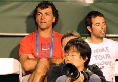 Rafa tiene el apoyo de su tío Miguel Ángel Nadal, que siem...
