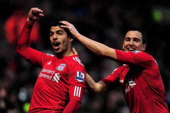 El delantero del Liverpool se destapó a lo grande en el partido a...