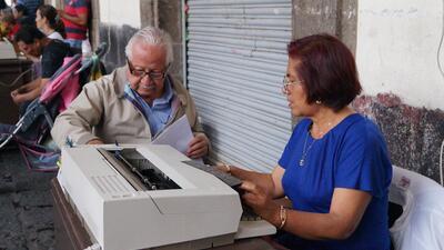 Los últimos escribanos de la Plaza de Santo Domingo