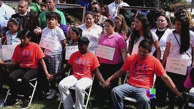 Inician una huelga de hambre en favor de los niños migrantes