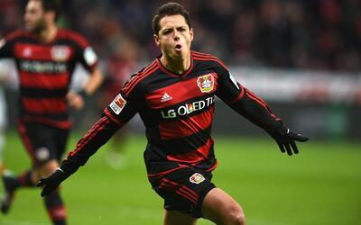 Chicharito sigue anotando con el Bayer Leverkusen