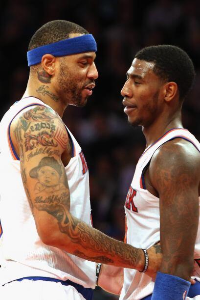 En la NBA Kenyon Martin es ala pivot de los  Milwaukee Bucks pero sus in...