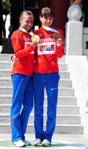 Olga Kaniskina confirmó su condición de reina de la prueba de 20 km marc...