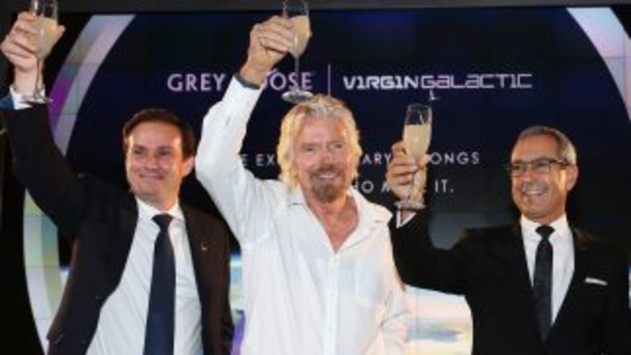 Richard Branson, CEO de Virgin.