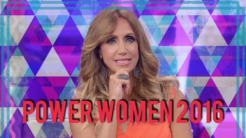 Lili Estefan está en la lista Power Women 2016 de la revista Moves.