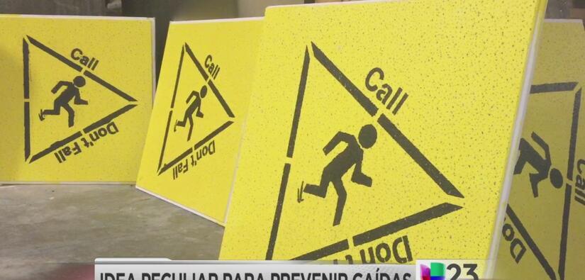 Hospital crea idea peculiar para prevenir caídas