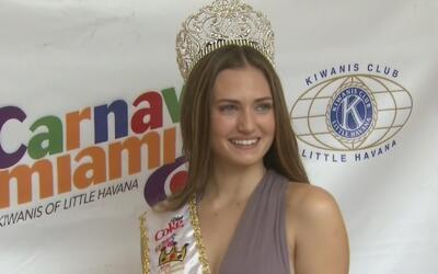 Daniela Albrecht, la nueva Miss Carnaval Miami 2017