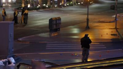 Policía en Las Vegas. (Imagen de Archivo).