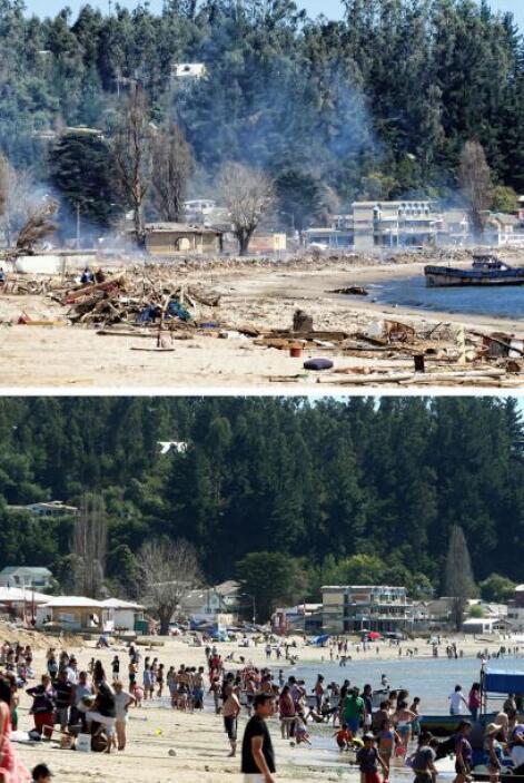 Los daños se evaluaron en unos 30.000 millones de dólares. El gobierno d...