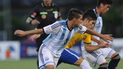 El único gol del clásico sudamericano fue anotado por el delantero Germá...