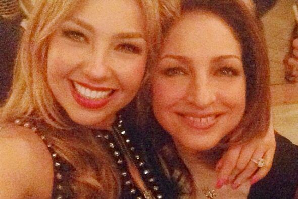 En el último cumpleaños de Lili se reunieron junto a Glori...
