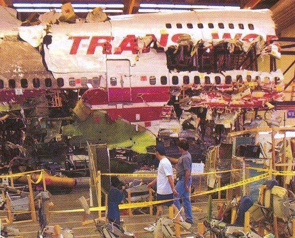 12- Trans World Airline alcanzó en 1996 las 943 víctimas fatales al mori...