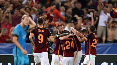 Alessandro Florenzi metió un golazo descomunal que dio el empate a la Roma.