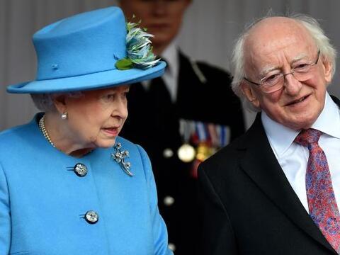 El presidente de Irlanda, Michael D. Higgins, inició una hist&oac...