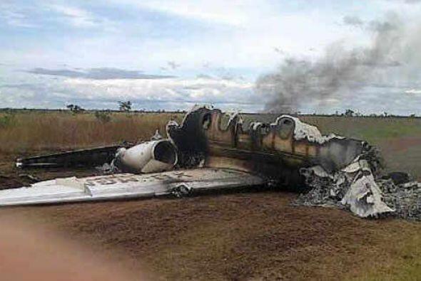 En noviembre un avión con matrícula mexicana fue obligado...
