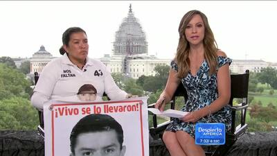 Familiares de desaparecidos en Ayotzinapa acuden al Papa en Washington