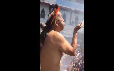 Un gobernador indígena en Venezuela maldice a Maduro con esperanzas de q...