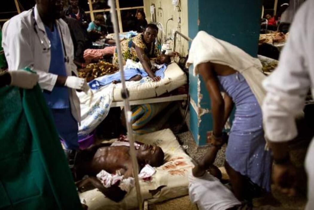 El jefe de la policía, Kale Kayihura dijo que el atentado pudo haber sid...
